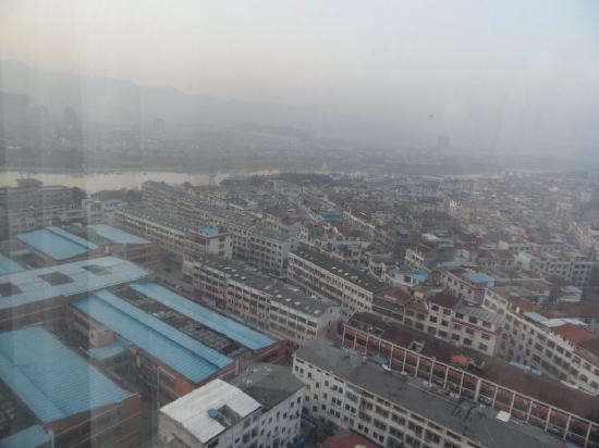 Yiwu International Mansion Hotel: vue du 25e etage