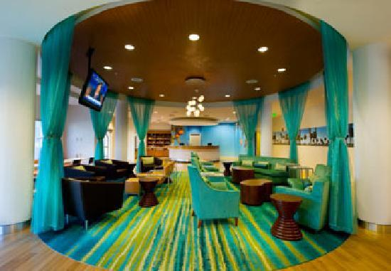 SpringHill Suites by Marriott Vero Beach: Lounge