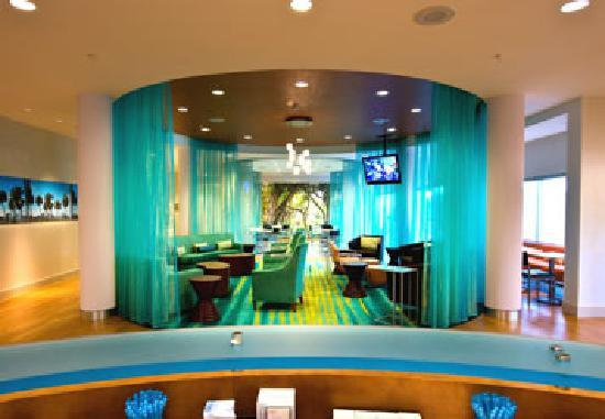 Lobby at SpringHill Suites by Marriott Vero Beach
