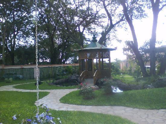 Le Moustier Suites: Parque