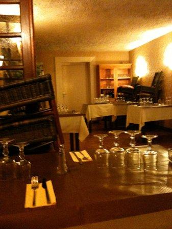 Hotel Accendi Pipa :                                     aspect de la salle au moment du petit déjeuner