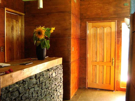 Lodge El Taique: La recepción