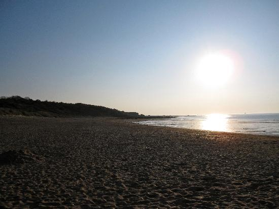 Muirfield Green Bed and Breakfast: sunset on the beach
