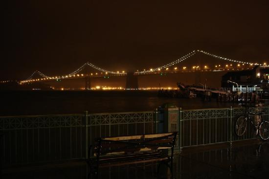 Oakland Bay Bridge from Slanted Door