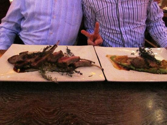 Restaurant Bug: Lamb Rack and Veal Steak