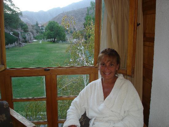 Hotel & Spa Termas Cacheuta: Vista ventana habitación