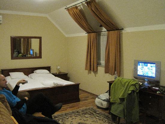 Gibraltar Vendeghaz: our room