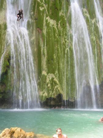 Grand Paradise Samana : Crazy jumper at El Limon Waterfall