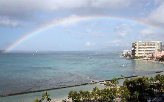 Aston Waikiki Beach Hotel : Beautiful view