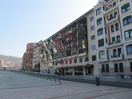 facade picture of gran hotel domine bilbao bilbao tripadvisor. Black Bedroom Furniture Sets. Home Design Ideas