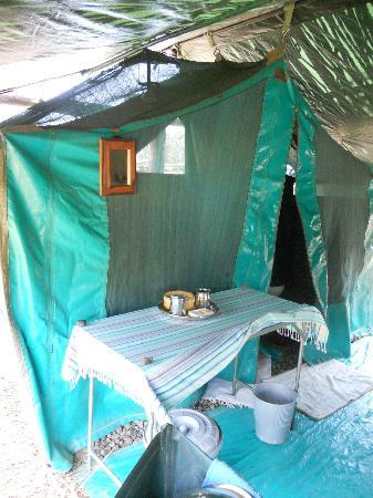 Ol Pejeta Bush Camp, Asilia Africa: En suite bathroom !