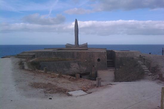 D-Day Beaches (Plages du Debarquement de la Bataille de Normandie): Observation post bunker now re-opened to the public