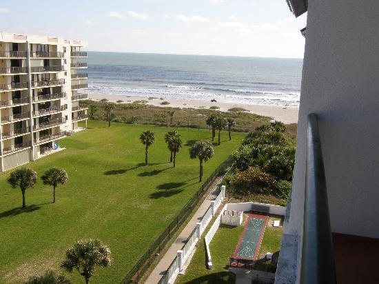 The Resort on Cocoa Beach: View from our balcony