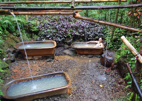Sea Cliff Cottages: Ti Kwen Glo Cho hot springs