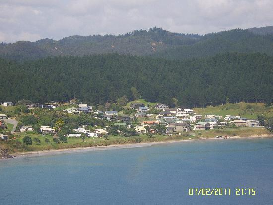 Leighton Lodge: Opito Bay from the headland