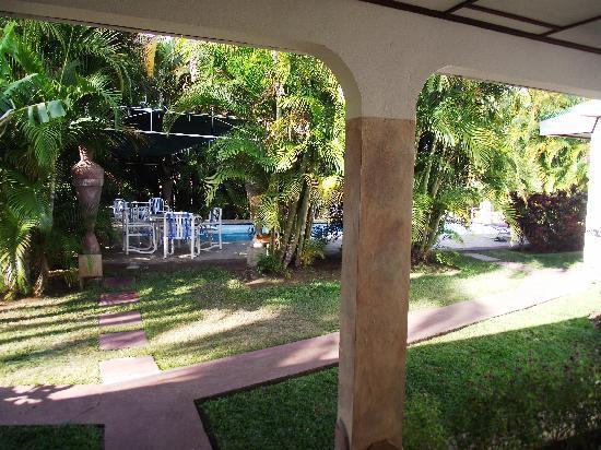 Hotel La Rosa de America: view from room