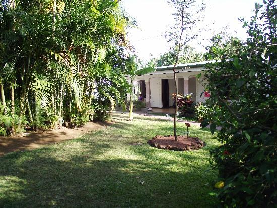 Hotel La Rosa de America: view from grounds to room