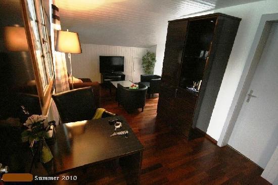 Hotel Brienzersee: 4th floor room