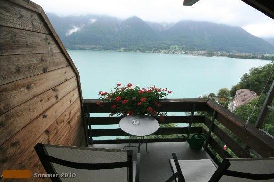 Hotel Brienzersee: 4th floor room view