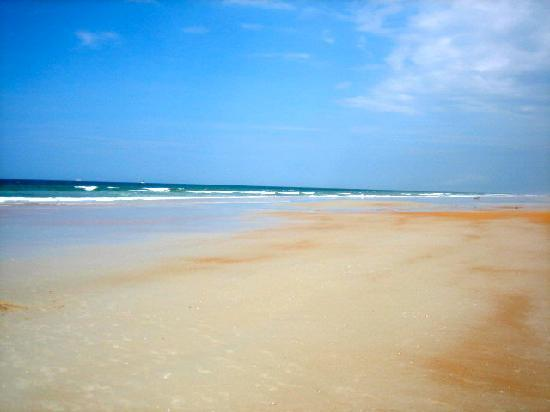 Ormond Beach, FL: Empty Beach!