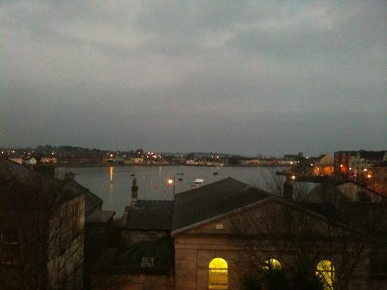 Lawlor's Hotel Dungarvan: View from the room overlooking the harbour.