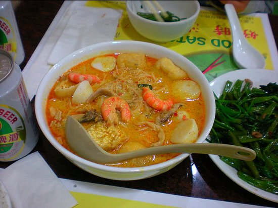 Good Satay : Laksa Soup