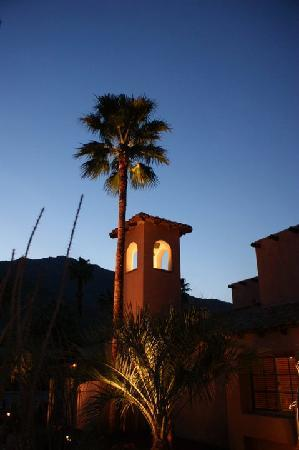 Hotel California: mission bell tower