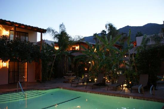 Hotel California: mountain views from the pool and patios