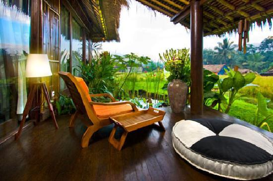 Villa Kunang Kunang: unique eco-friendly activity at the property invites guests to plant trees that will enhance the