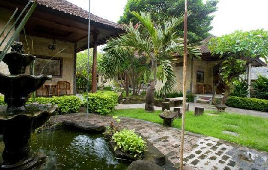 Taman Sari Cottage II: Fishpond and Garden