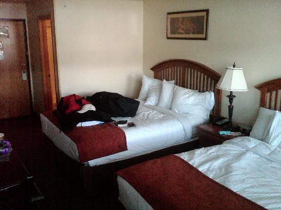 Breck Inn: Two queen beds were comfortable