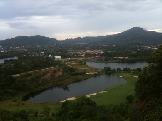 Red Mountain Golf Club: view from back on the 16th