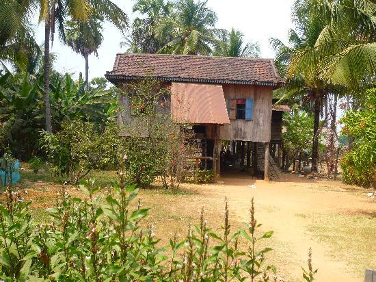 Angkor Daily Tours: Traditional Cambodian house