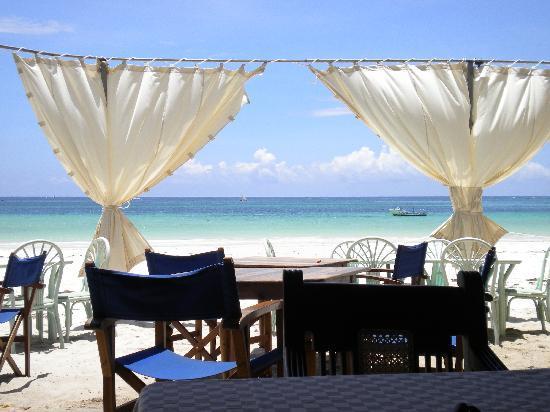 Blue Marlin Beach Restaurant: the view