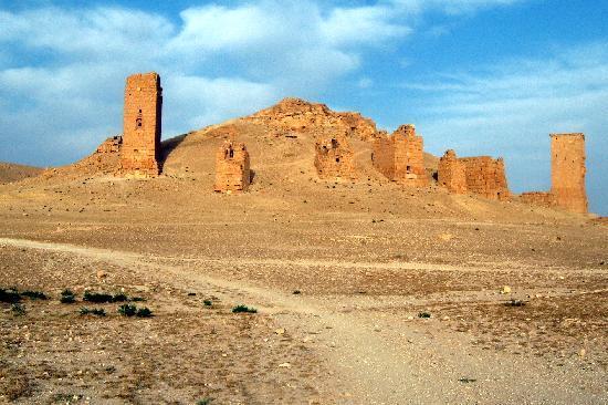 Palmyra, Syria: Valle delle tombe