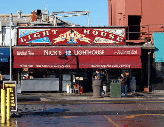 Nick S Lighthouse San Francisco Fisherman S Wharf