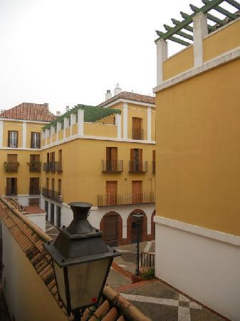 Pension Cordoba: The view from our balcony