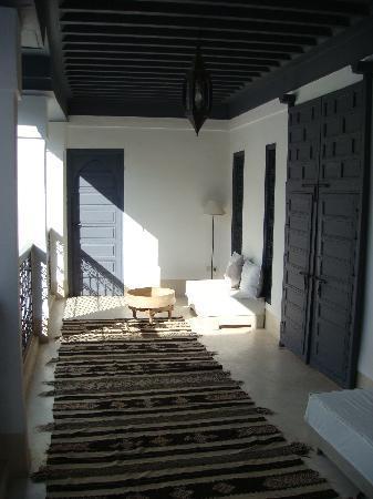 Riad Dar-K: la galerie