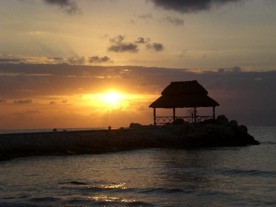 Hotel Marina El Cid Spa & Beach Resort : photo prise sur un amac sur la plage