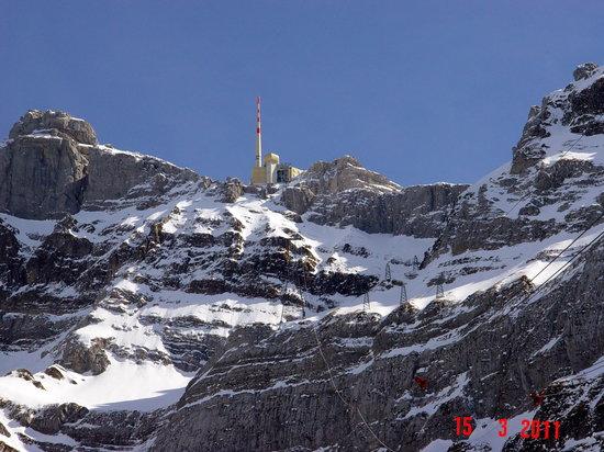 Santis der Berg: Säntis Gipfel