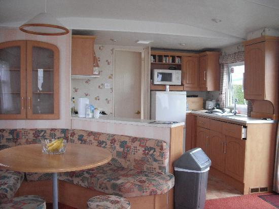 Stanwix Park Holiday Centre: inside our caravan which was spotless