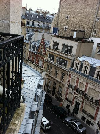 Hotel Duret: View from balcony