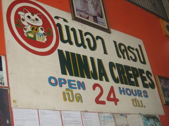 Ninja Crepes : insegna