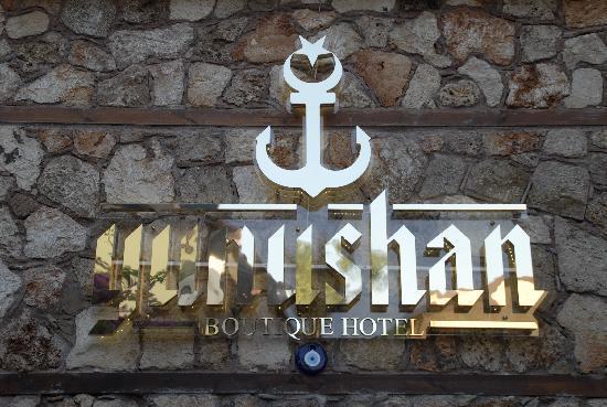 Karte Hotel Oscar Boutique Antalya