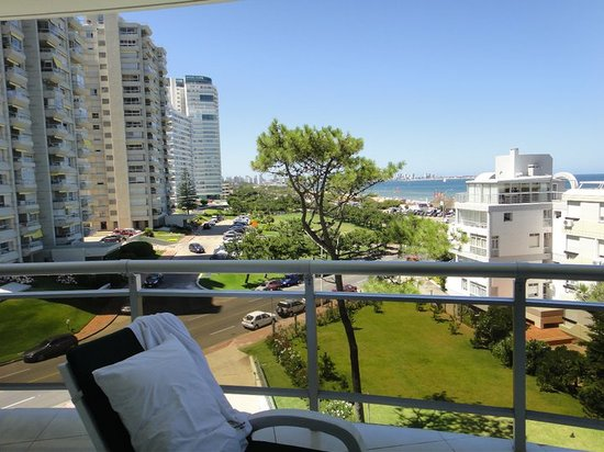 Maldonado, Uruguay: Vista del balcon