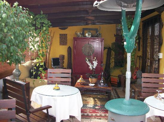 La Villa Marbella: Rooftop breakfast area