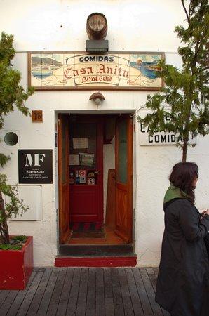 Casa Anita: Entrada al restaurante