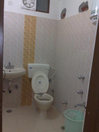 Hotel Maharaja: clean toilets