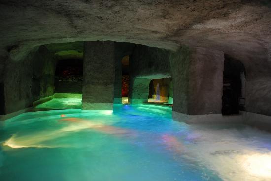 Grande Hotel Santa Domitilla: Interno Calidarium 35°-38°