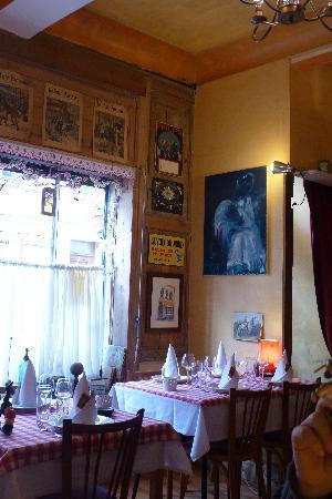 Restaurant Chez Tante Fauvette: charme d'antan